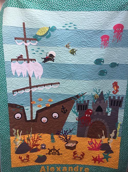 Aquarium Quilt