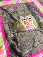 Baby Camoflage Owl Quilt