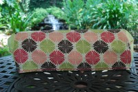 Cricut Expression Cover - Pink & Brown Graphic Flowers