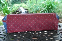 Cricut Expression or Create Cover - Denim and Maroon