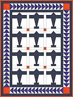 Crib Size Airplane Quilt Pattern