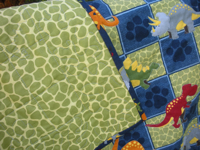Dynamite Dinosaurs Quilt