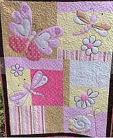 Butterflies and Dragonflies Quilt Pattern