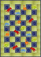 Dinosaur Block Baby or Toddler Quilt Pattern