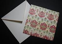 Love that Damask Note Card Series