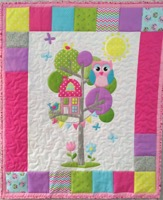 Owl Tree House Quilt