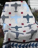 Airplane Quilt Pattern